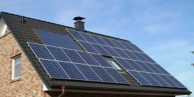 Energiespeicher Haus Panele